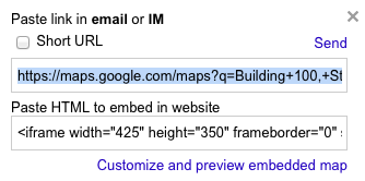 Getting Started on Sites: How to Add a Google Map to Your ... on address google map, insert google map, copy google map, export google map, map google map, share google map, twitter google map, small google map,