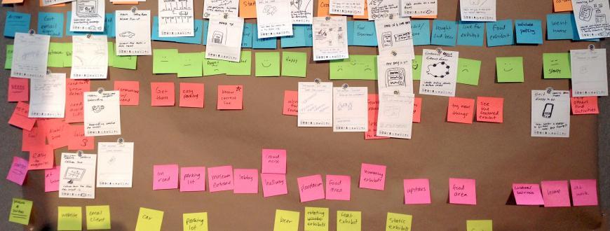 Service design workshop example