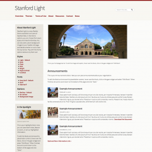 Stanford Light - example 1