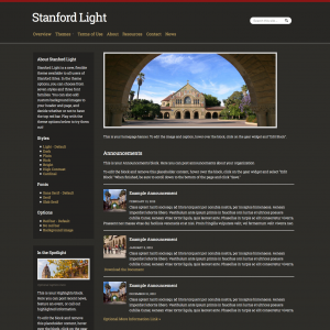 Stanford Light - example 2