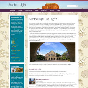 Stanford Light - example 5