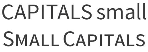 Source Sans Pro Small Caps