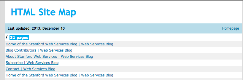 Creating A Sitemap For Auditing Your Site Web Services Blog